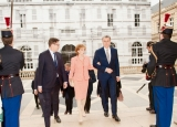"""""""Ora Regelui"""" prezintă vizita istorică a Familiei Regale în Franța"""