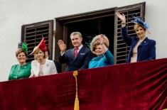 Familia Regală a sărbătorit 10 mai cu românii