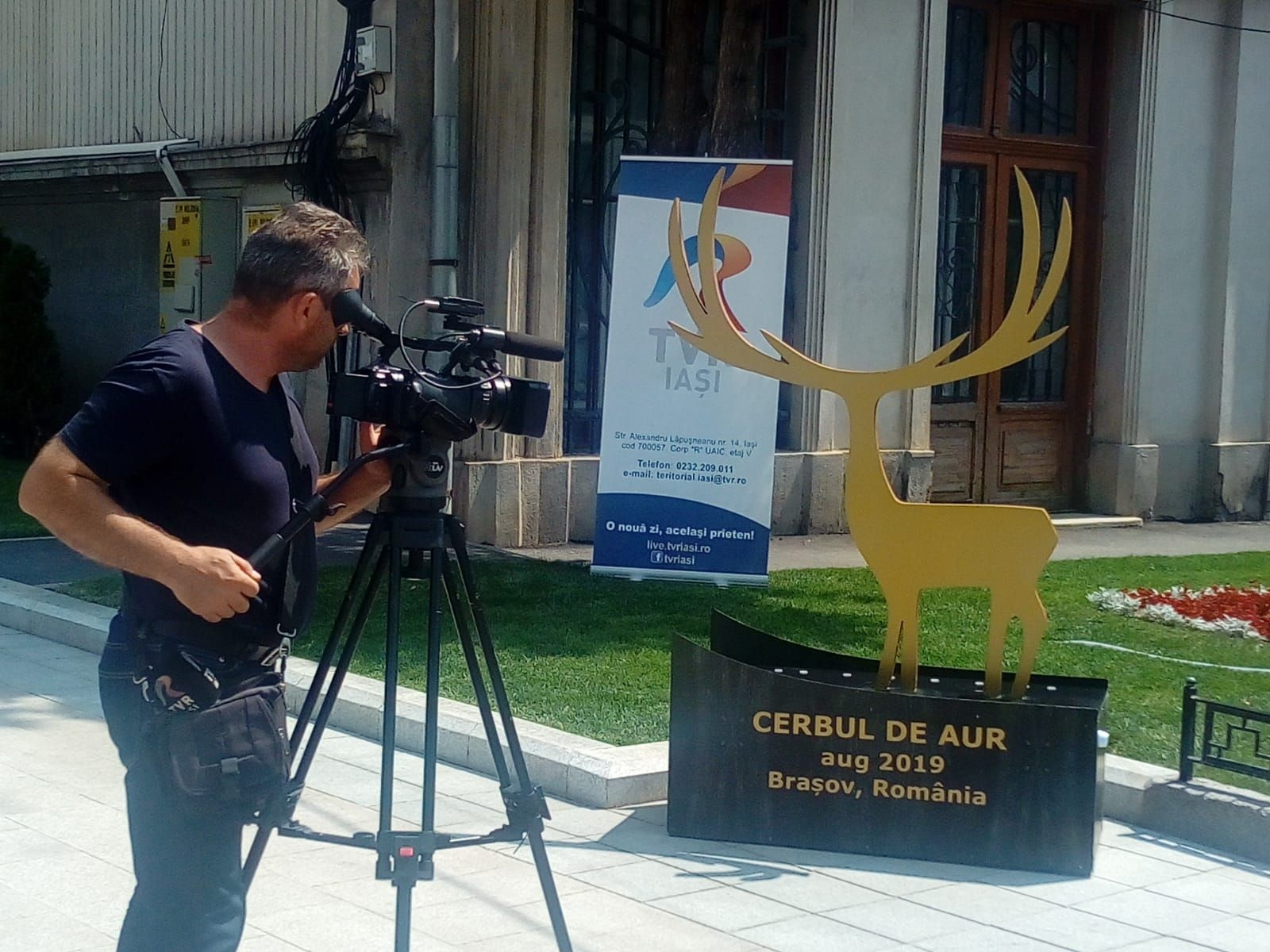 """""""Prinde"""" în poză Cerbul de Aur şi vino la cel mai mare Festival Internaţional de Muzică"""