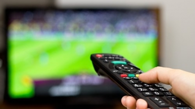 Fotbal la televizor