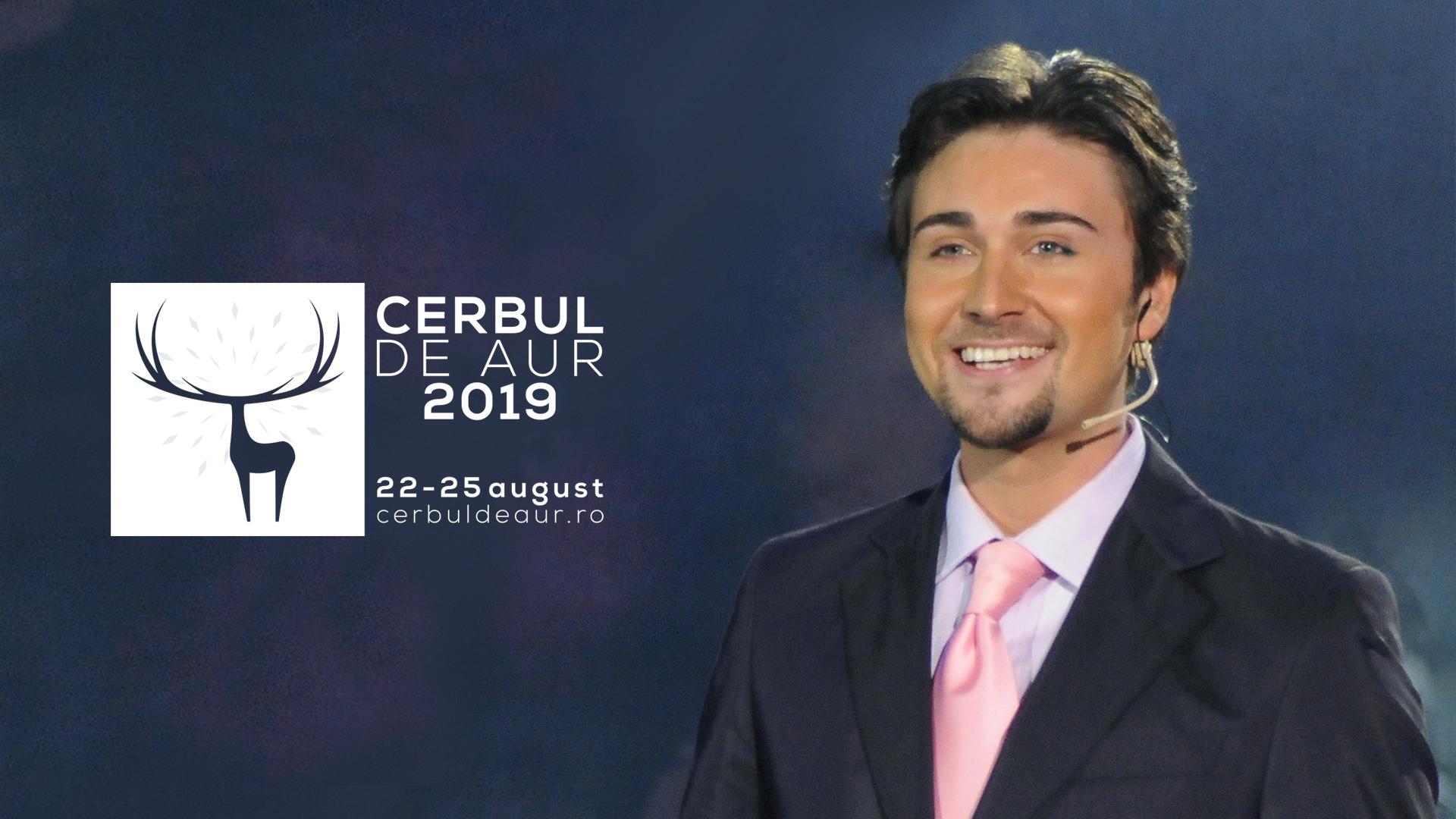Elvin Dandel, prezentatorul Festivalului Cerbul de Aur 2019: