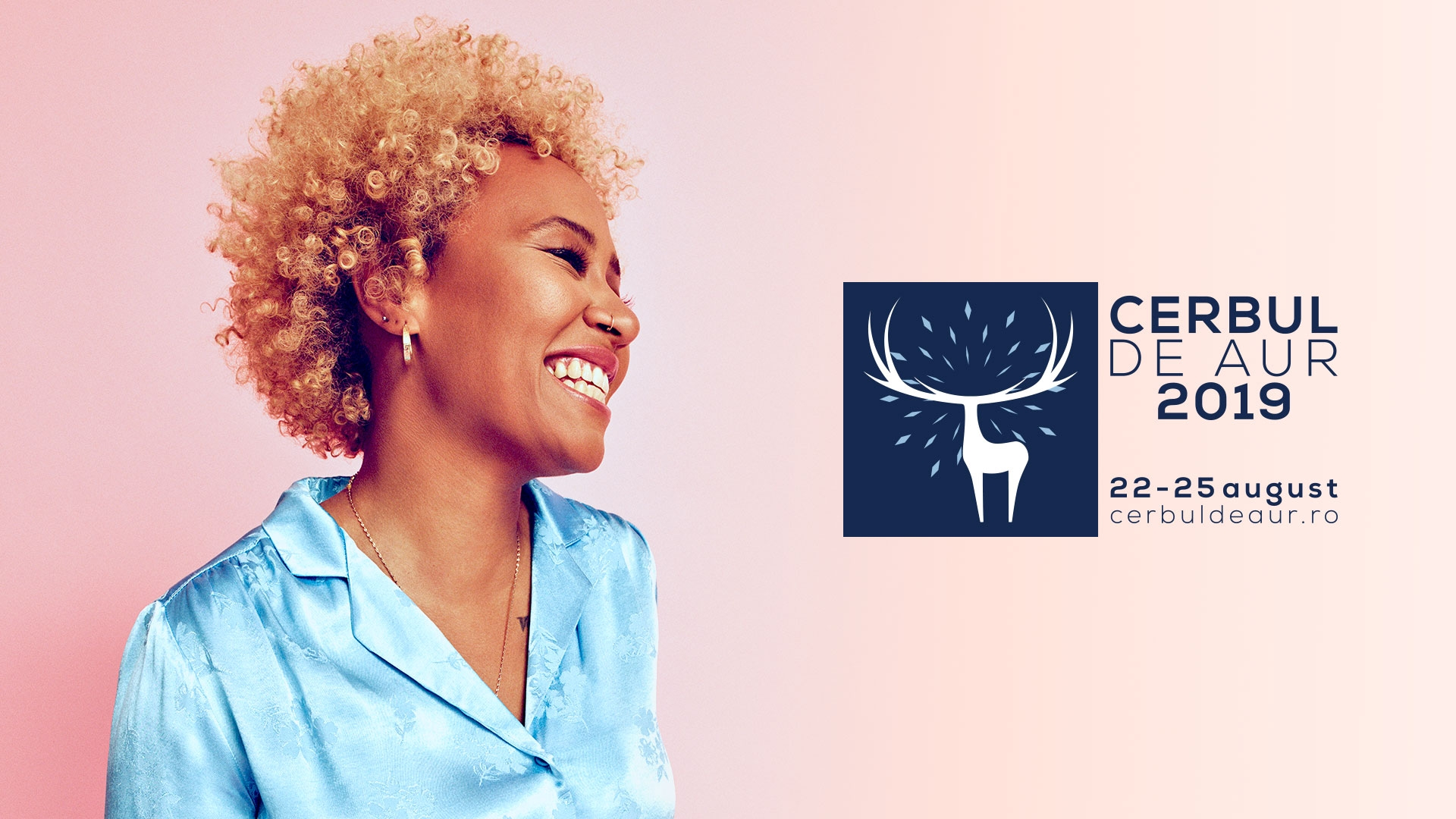 """Emeli Sande reveals """"My Kind of Love"""" to the Romanian public at the Golden Stag 2019"""
