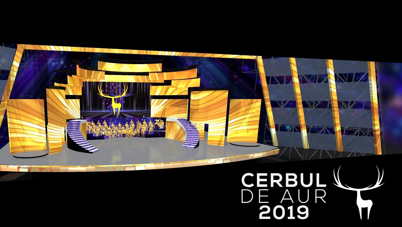 Cerbul de Aur 2019, pe o scenă cât 1.000 de televizoare