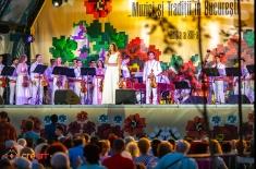 """Iuliana Tudor prezintă Festivalul """"Muzici şi Tradiţii în Bucureşti"""" la TVR 1 și TVRi"""