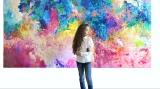 Maia Truţulescu, fetiţa care vede lumea ca pe o grădină colorată