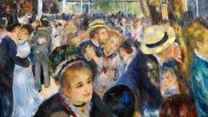 Pierre-Auguste Renoir, sâmbătă la