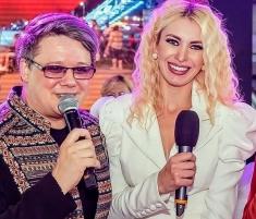 Alina Ionescu şi Fuego, la Gala Asociației de Sprijin a Copiilor cu Handicap Fizic