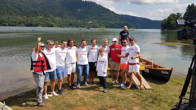 Echipa Presei, concurs de canotci pe Bicaz - Exclusiv in Romania