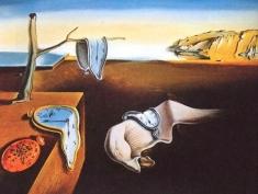 Salvador Dali - Persistența Memoriei, sâmbătă la