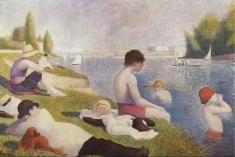 """""""Teleenciclopedia"""": Tehnica de pictură a lui Georges Seurat"""