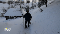"""""""Izolaţi în România"""", episodul 11 : """"Ultima zi când muntele are chip de om"""""""