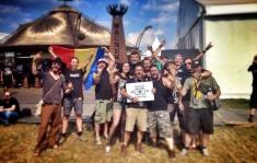 "Remix: Metal rock cu strigături - DIRTY SHIRT live la Festivalul ""Wacken"""