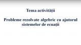 matematica ecuatii 18 martie