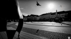 #CoronaVirus: Timișoara - Sound of Silence   VIDEO