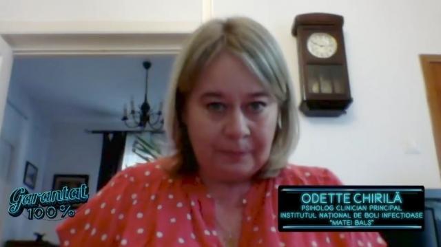 Odette Chirila, psiholog, Matei Bals