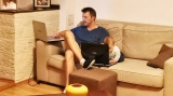Costin Desliu si Dima la laptopuri