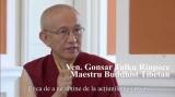 Maestrul buddhist Gonsar Tulku Rinpoce, la