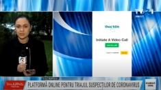 Aplicație online pentru triajul suspecților de coronavirus | VIDEO