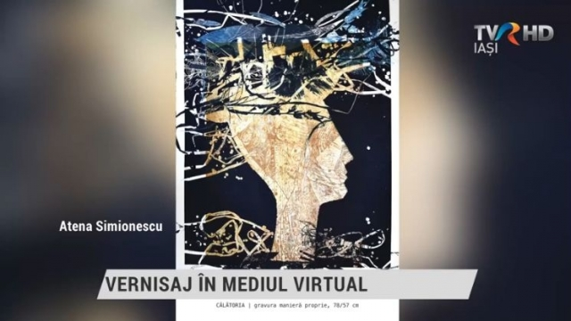 vernisaj in mediul virtual