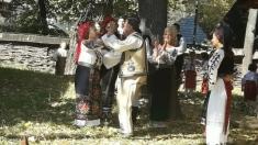 """""""Catrina"""" folclorului moldovenesc la"""