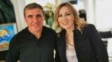 Gheorghe Hagi si Irina Pacurariu