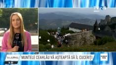 Muntele Ceahlău din județul Neamț vă așteaptă să îl cuceriți | VIDEO