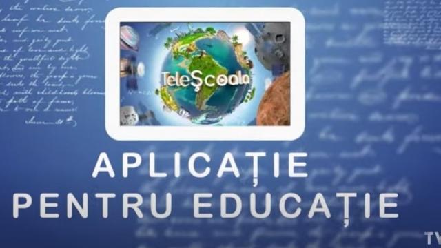 telescoala aplicatie pentru educatie 27 august 2020