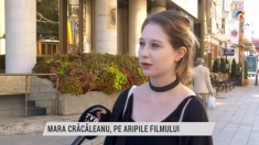 Mara Crăcăleanu, pe aripile filmului | VIDEO
