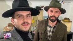 Radu si Alin Iorgoni sunt doi fraţi pălărieri #Selfie | VIDEO