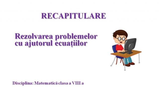 Matematica VIII Telescoala 29 septembrie