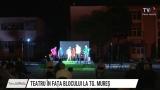 Teatru în fața blocului la Tg.Mureș | VIDEO