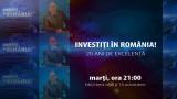 """""""Investiţi în România!"""", 20 de ani de excelenţă pentru românii de pretutindeni"""