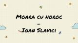 Limba romana XII Slavici 22 octombrie 2020