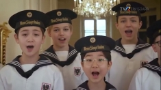 "Corul ""Wiener Sängerknaben"", la Cronica germană | VIDEO"