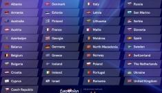 41 de țări vor participa la Eurovision 2021