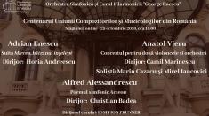 100 de ani de la înființarea Uniunii Compozitorilor şi Muzicologilor din România