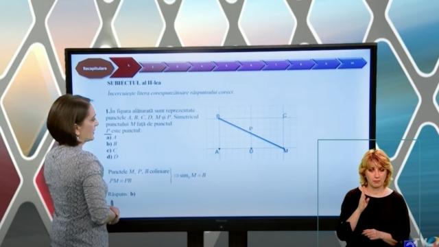 Telescoala matematica geometrie VIII 13 octombrie