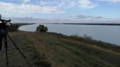 """""""Dunărea care unește"""" (I): Cu bacul între Isaccea și Orlovca"""