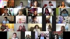 """Copiii din diaspora au spus """"Câștigă România!"""""""
