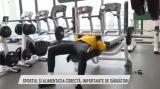 Sportul și alimentația corectă, importante de sărbători | VIDEO