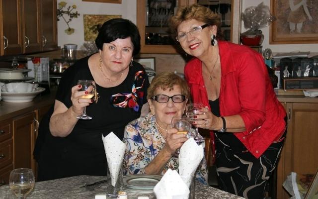 Cu Ruth Oren și Doina Meiseles la Tel Aviv, 2018