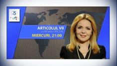Românii din diaspora și parcursul european al Republicii Moldova, la Articolul VII