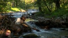 Pescar hoinar: Expediţie pe râuri de munte... | VIDEO