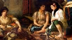 """""""Femei din Alger în apartamentul lor"""