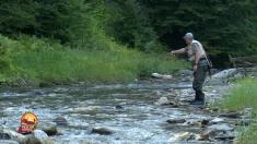 Pescar hoinar: Păstrăvi, adrenalină, peisaje de poveste | VIDEO