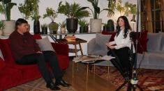 Carmen Târnoveanu şi Ovidiu Şimonca, în dialog la Cult@Press