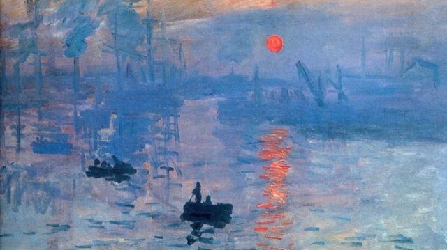 Rasarit de soare Monet