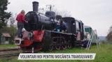 Voluntari noi pentru Mocanița Transilvaniei   VIDEO