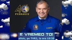 """Săptămâna Dumitru Prunariu la """"E VREMEA TA!"""""""