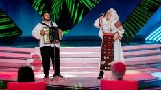 """Fiu de fierar, în duet cu Viorica din Clejani la """"Vedeta populară""""!"""